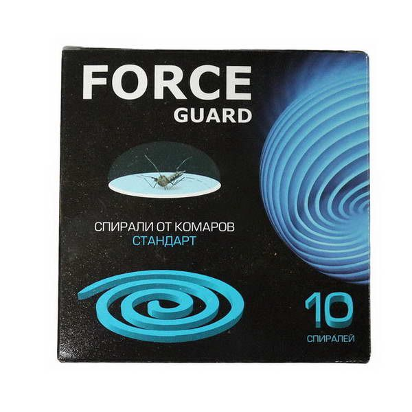 Спирали Force guard Стандарт синие 10шт